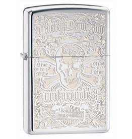 Zippo Zippo Lighter - High Polish Chrome HD Engraved