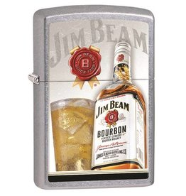 Zippo Zippo Lighter - Street Chrome Jim Beam