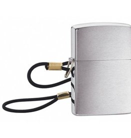 Zippo Zippo Lighter - Brushed Chrome w/ Lanyard