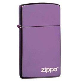 Zippo Zippo Lighter - Slim Abyss Zippo Logo