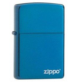 Zippo Zippo Lighter - Sapphire Zippo Logo
