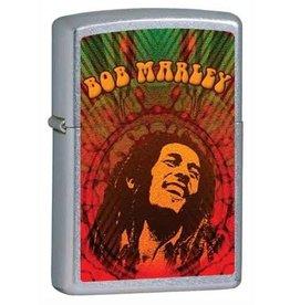 Zippo Zippo Lighter - Street Chrome Bob Marley
