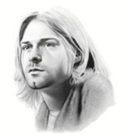 Hand Sketched Posters - Kurt Cobain