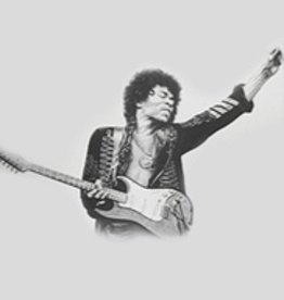 Hand Sketched Posters - Jimi Hendrix (Guitar 2)