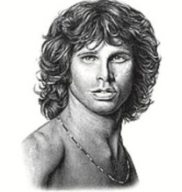 Hand Sketched Posters - Jim Morrison