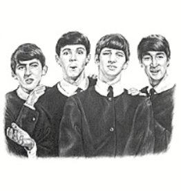 Hand Sketched Posters - Beatles - Young
