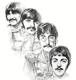 Hand Sketched Posters - Beatles - Sgt. Pepper