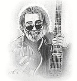 Hand Sketched Posters - Jerry Garcia