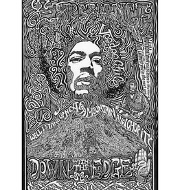 Heidelberg Letterpress Poster Jimi Hendrix