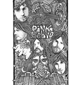 Heidelberg Letterpress Poster Pink Floyd