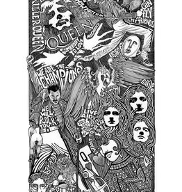 Heidelberg Letterpress Poster Queen