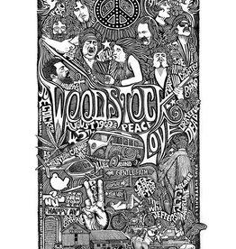 Heidelberg Letterpress Poster Woodstock