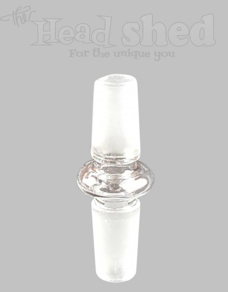 14mm male x 14mm male Glass Inverter