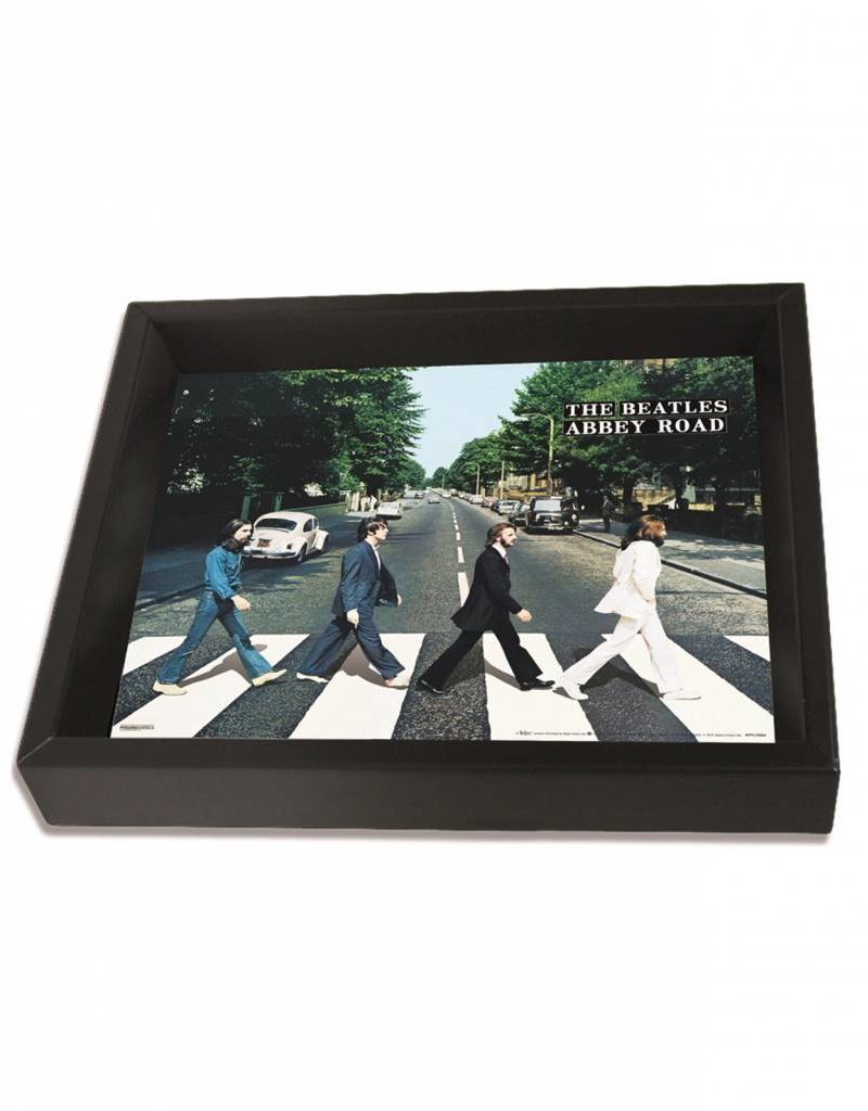 "3D Shadowbox 8""x10"" - The Beatles Abby Road"