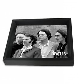 "3D Shadowbox 8""x10"" - The Beatles Group"