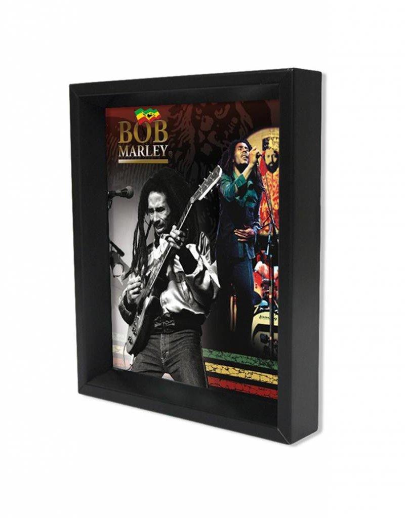 "3D Shadowbox 8""x10"" - Bob Marley"