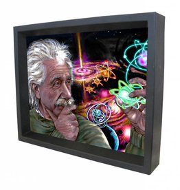 "3D Shadowbox 8""x10"" - Einstein James Danger Quasar Color"