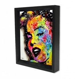 "3D Shadowbox 8""x10"" - Marilyn Monroe Dean Russo"