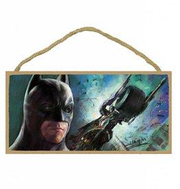 Wood Door Hanger Plaques 5 x 10 Batman Dark Knight