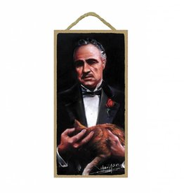 Wood Door Hanger Plaques 5 x 10 The Godfather