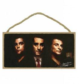 Wood Door Hanger Plaques 5 x 10 Goodfellas