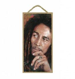 Wood Door Hanger Plaques 5 x 10 Bob Marley