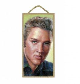 Wood Door Hanger Plaques 5 x 10 Elvis Presley