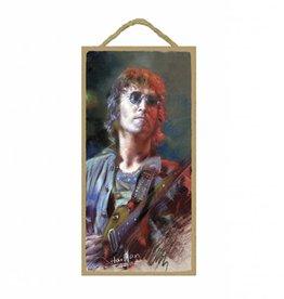Wood Door Hanger Plaques 5 x 10 John Lennon