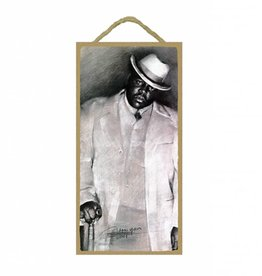 Wood Door Hanger Plaques 5 x 10 Notorious B.I.G.