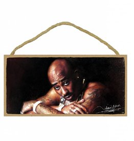 Wood Door Hanger Plaques 5 x 10 Tupac