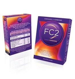 FC2 Female Condoms 3pk.