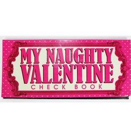 My Naughty Valentine Checkbook