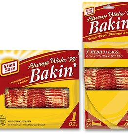 "Stink Sack Wake n' Bakin' 7.5""x7"""