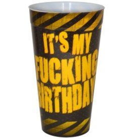 Plastic Drinking Cup My Birthday