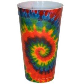 Plastic Drinking Cup Tie Dye
