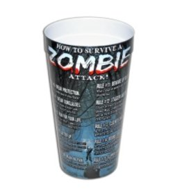Plastic Drinking Cup Zombie Survival