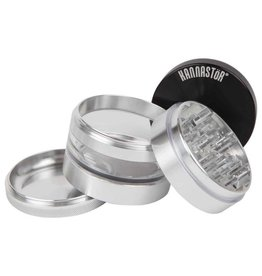 "Kannastor Kannastor - Solid Top 2.5"" - 4pc Grinder/Jar"