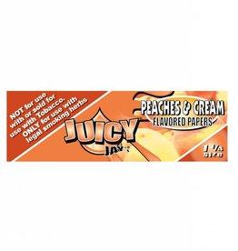 Juicy Jay's Juicy Jay's 1 1/4 Peaches & Cream