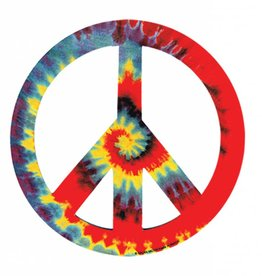 Magnets Tie Dye Peace Sign