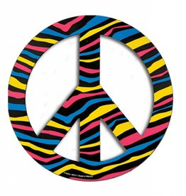 Magnets Color Zebra Peace Sign