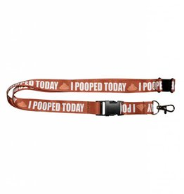 Lanyard I Pooped Today