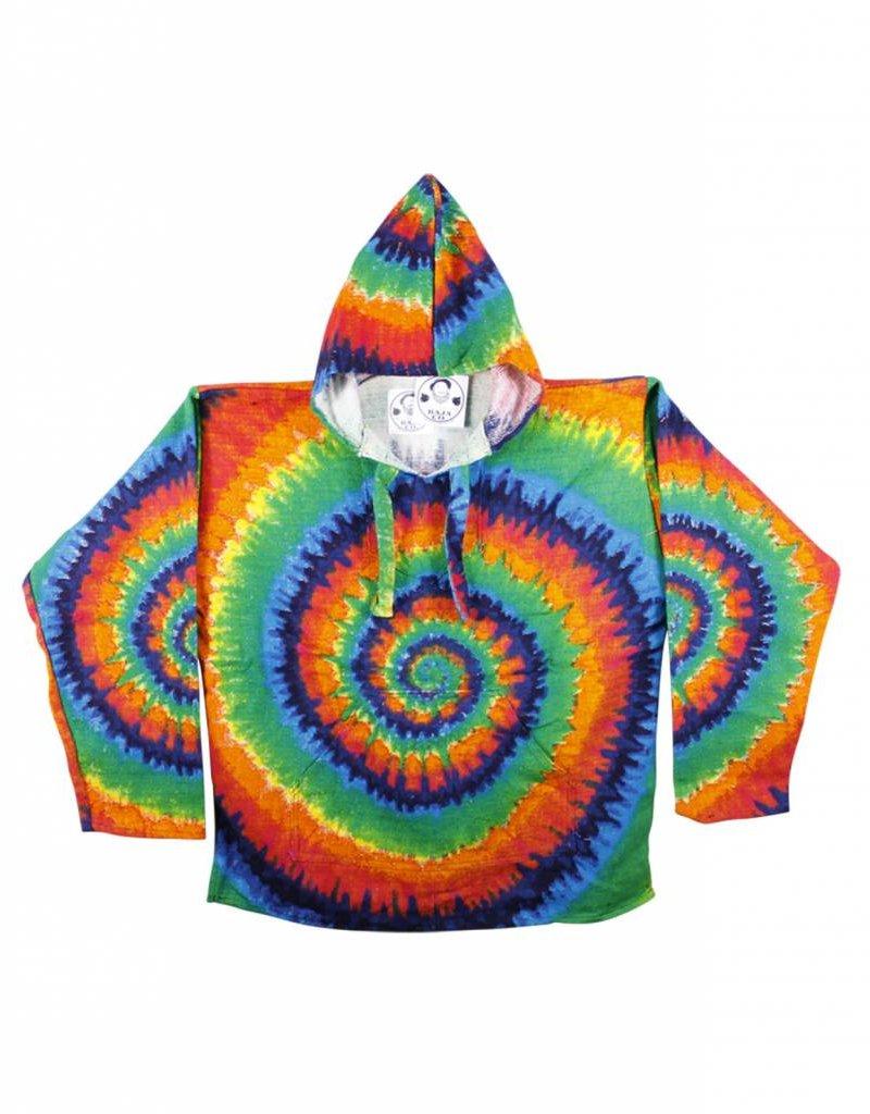 Tie Dye Baja Hoodie