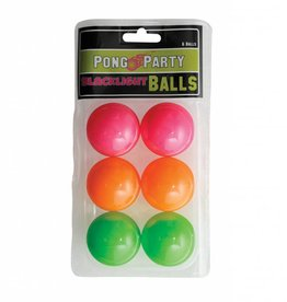 Black Light Pong Balls