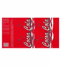 Pop Can Labels Cocoa-Cola