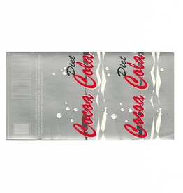 Pop Can Labels Diet Cocoa Cola