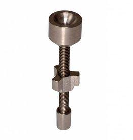 Errl Gear 14mm Adjustable Titanium Nail