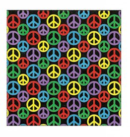 Skeye Sticker - Rainbow Peace Sign Square