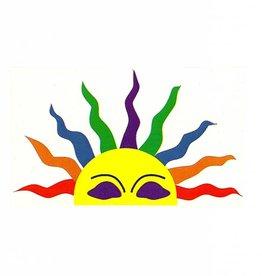 Skeye Sticker - Rainbow Half Sun