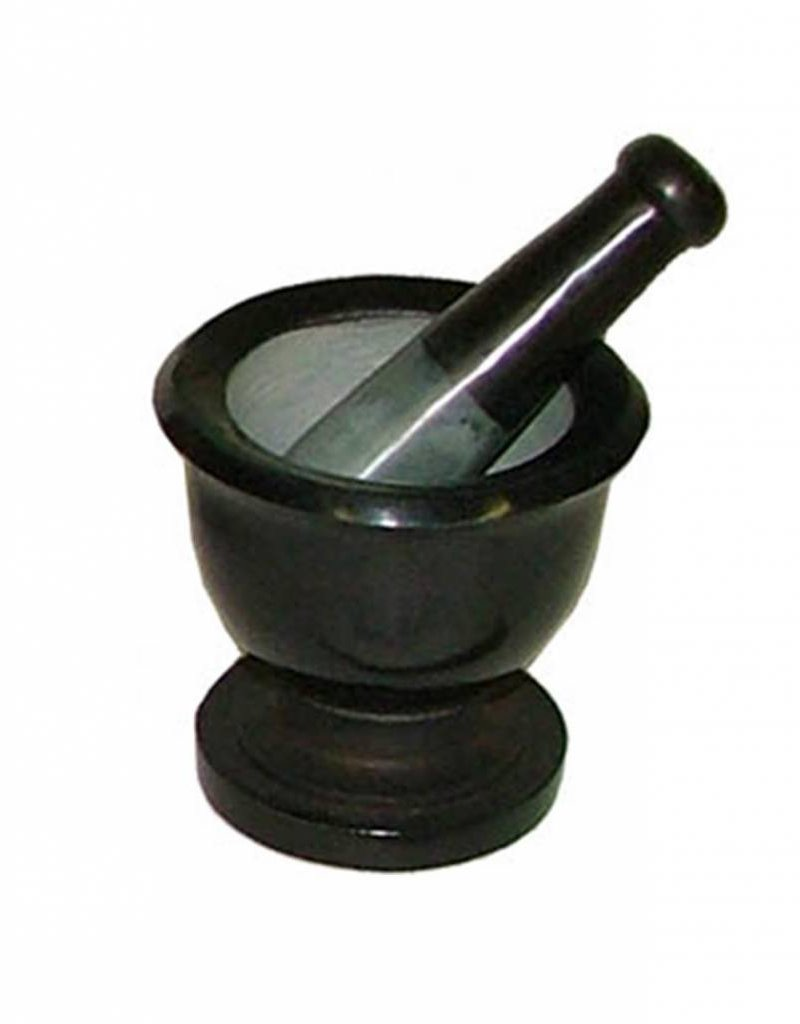 Black - Mortar & Pestle