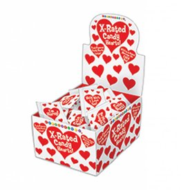 Unprinted Heart Shaped Candy